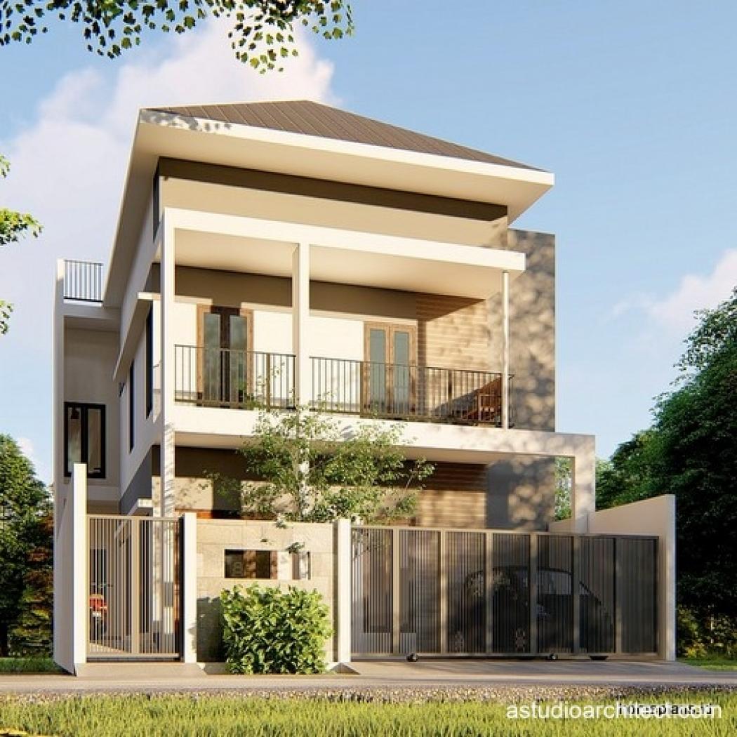 Desain Rumah Detil Produk Desain Rumah Lahan 9x15m Dua Lantai Dengan Kamar Kos Kosan Di Belakang Kode 192 By Homeplans Id