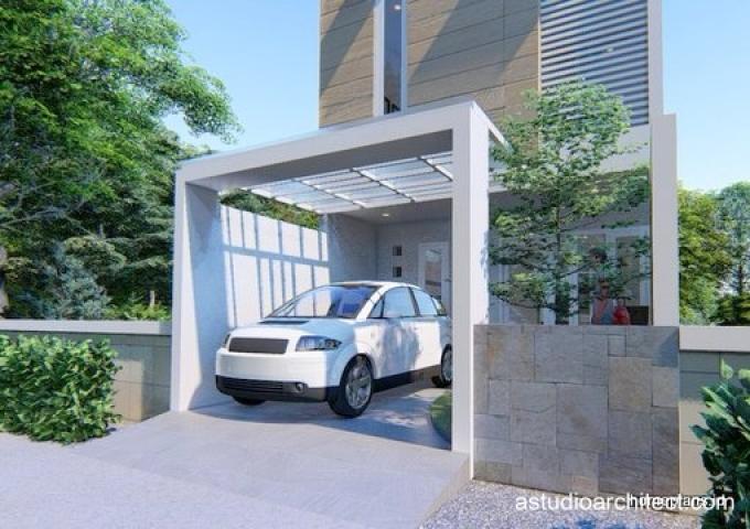 Desain Rumah Desain Rumah Lebar Sempit Memanjang Kebelakang 5x15m By Homeplans Id
