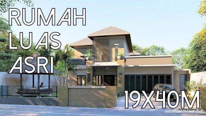 Desain Rumah Pilihan Detil Produk Desain Rumah Yang Luas Dan Asri