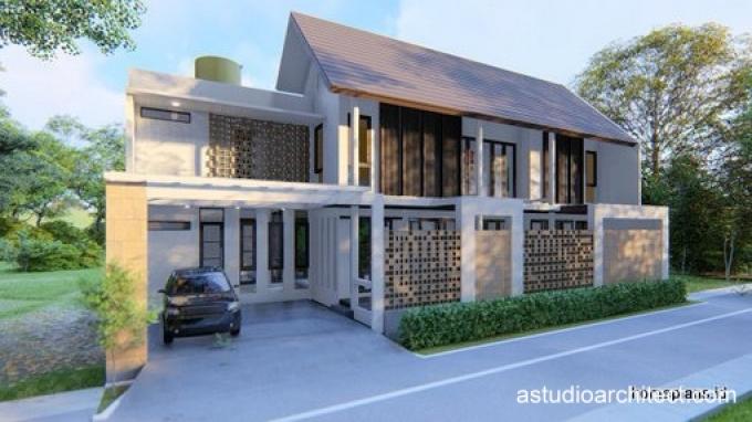 Desain Rumah Detil Produk Kolam Renang Diruang Keluarga Desain Rumah Lahan Melebar 20x8 25m Kode 190 By Homeplans Id